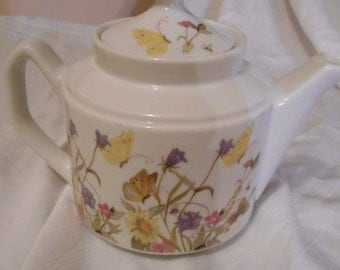 Enesco Teapot- Nature Garden Society