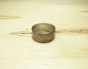 Hammered Keum Boo Ring