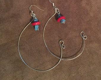 Handmade minimalist earrings