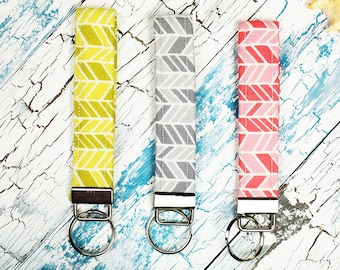 Key Fobs/Wristlets (Herringbone 2 Collection )
