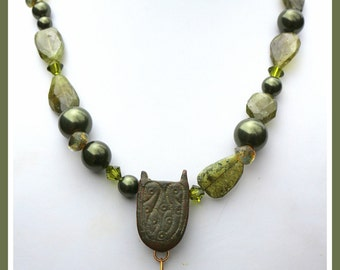 Roman Metal Artifact - 2000 years old - Olive