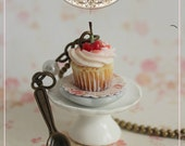 SCONTO ! Romantic Plate Cupcake : Collana 7