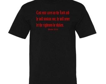 Psalm 55:22 Tshirt