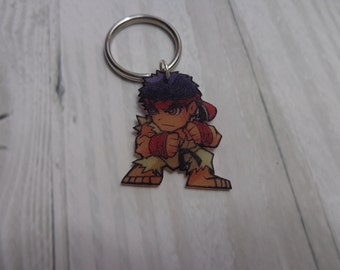 Street fighter key chains
