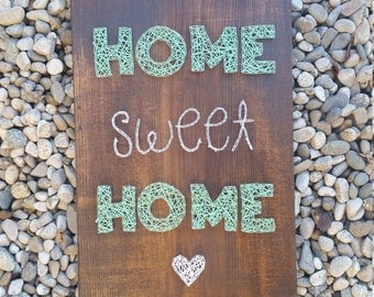 String art sign - Home Sweet Home