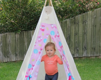 Teepee/play tent, 5 sided, made to order