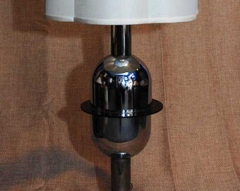 "Palm Springs Modernist - Mid Century Modern - Futuristic ""ATOMIC"" vintage table lamp"