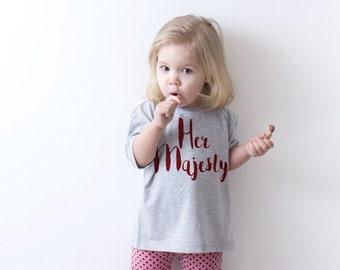 Gift for kids gift his highness shirt funny toddler shirt