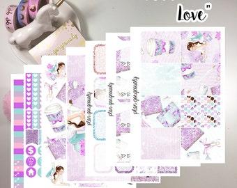 """Erin Condren and Happy Planner Sticker Kit - """"Planner Love"""""""