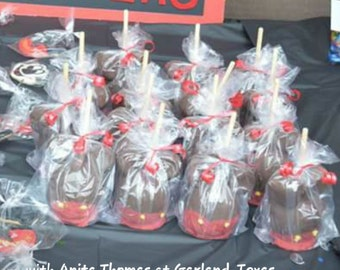 mickey mouse inspired apples