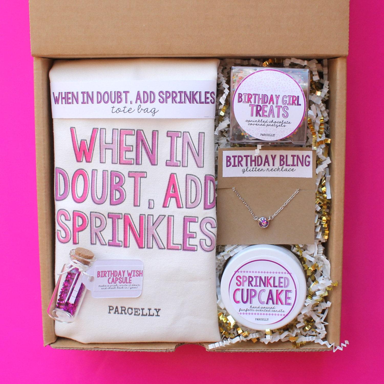 Wedding Gift Ideas For Best Friend Girl : Best Friend Birthday Gift. Birthday Gift Basket. Birthday Box