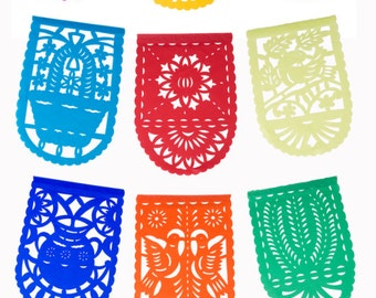 "PAPEL PICADO ""Medium All Occasion"" 