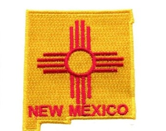 New Mexico State Shaped Patch