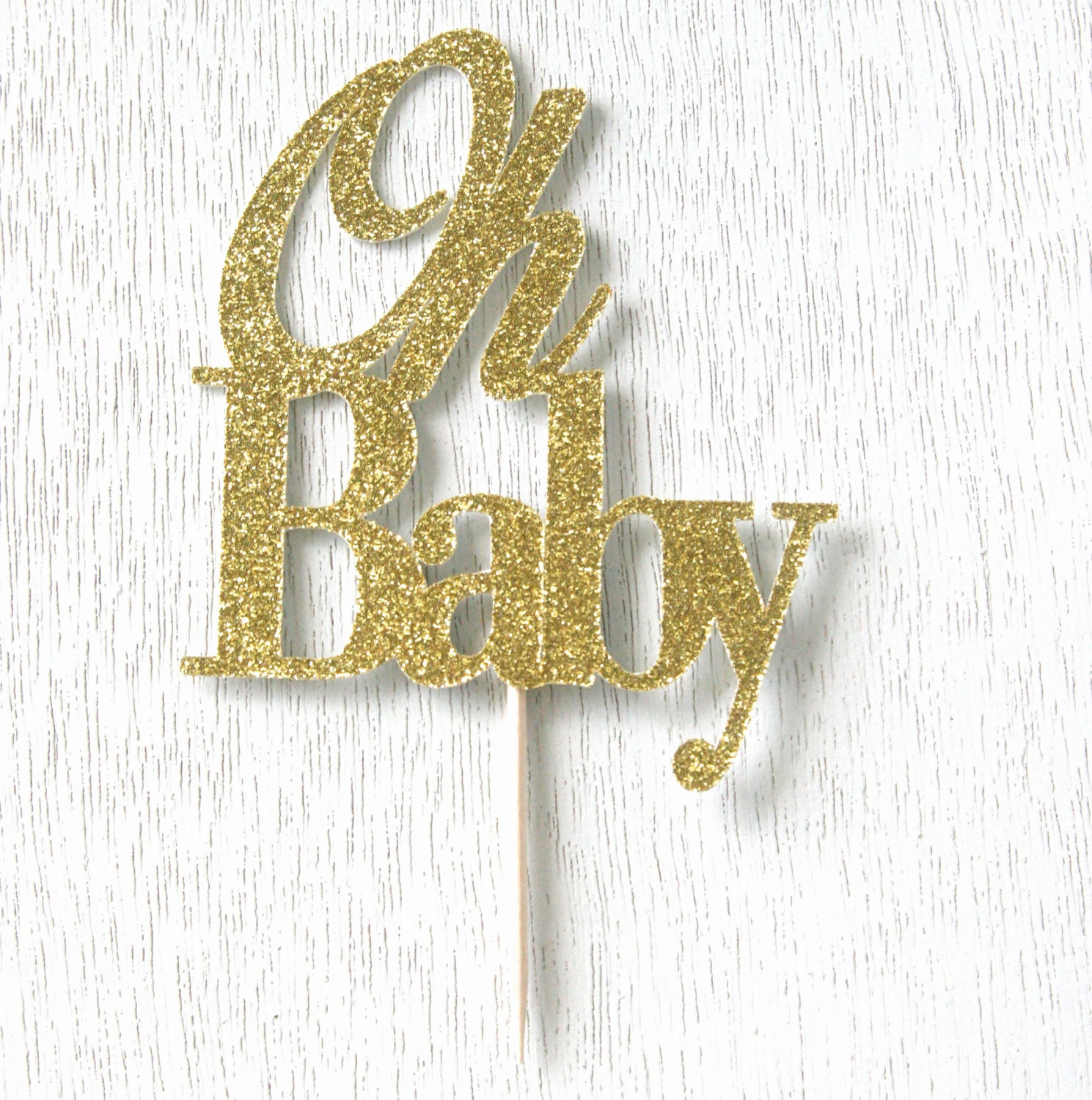 Oh Baby Cake Topper Canada
