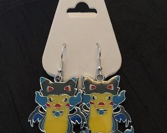 Silver Plated Nintendo Pokemon Cosplay Pikachu Charizard X