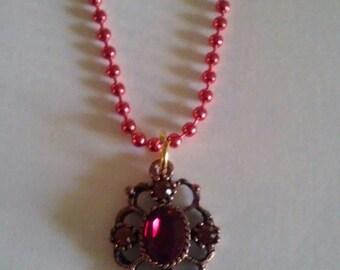 Victorian Crystal Pendant