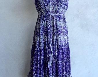Vintage Indian summer dress