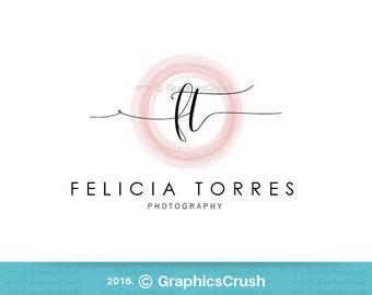 Photography Logo Circle Logo Coaching Logo Blog Logo Zen Logo