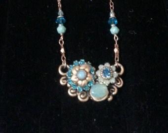 Exquisite Michal Golan Semi Precious Necklace