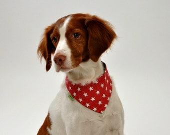 Bandana dog. Dog scarf. Reversible scarf pet. Collar dog. Pet scarf. Sice S/M