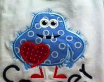 Valentine Monster t-shirt