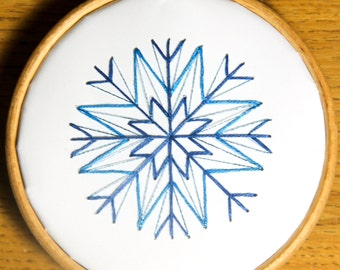 8 Cross stitch snowflake Christmas ornaments & Cards, quick easy modern patterns, 48 options, stitch on card or paper PDF - Instant download