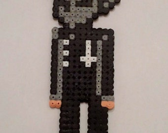 Nameless Ghoul Ghost pixel art beading beads