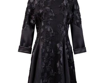 Black Embriodery dress