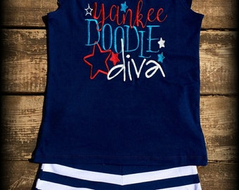 4th of July short set,4th of July outfit,applique,embroidery,custom,personalized,July 4th shirt,July 4th
