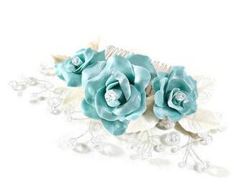 Tiffany Blue Rose Etsy