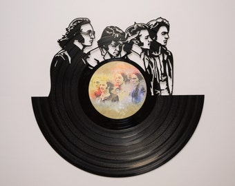 The Beatles - Vinyl Record Wall Art