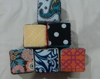 Foam Fabric Blocks
