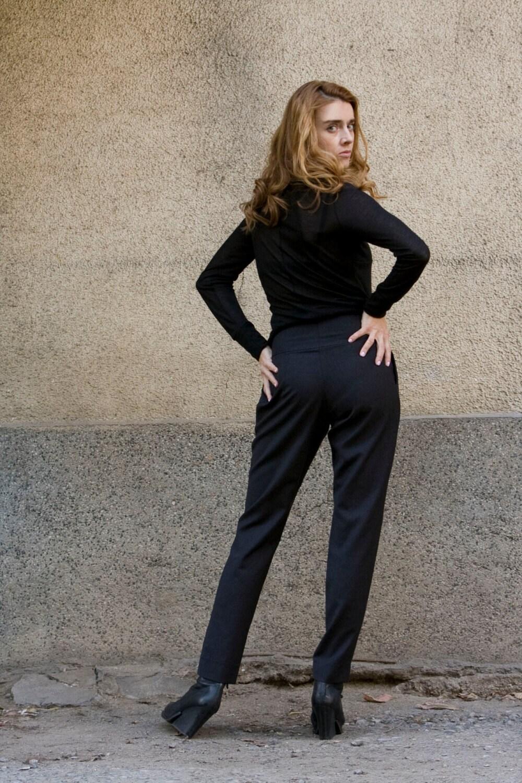 Fantastic Pants Women Work Wear Office Career Slim Long Straight Suit Pant