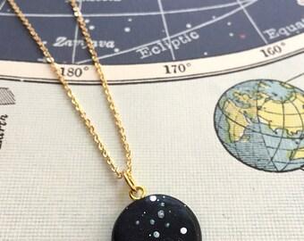 VIRGO constellation star sign necklace