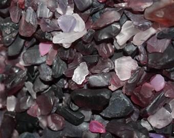 Dark Purple Mix Sea Glass/Beach Glass