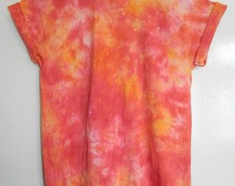 Tie Dye T-Shirt acid wash T-shirt hipster 90s festival Indie Retro 80s hippy dip dye men women unisex summer Marble tie dye t shirt top