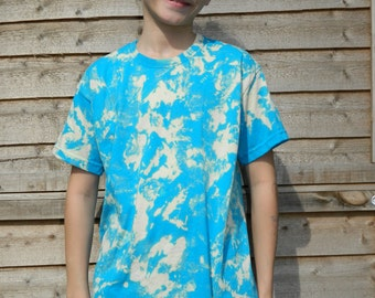 KIDS Tie dye t shirt Retro summer t shirt dip dye festival hippy tie dye t shirt Vintage children tie dye t shirt handmade kids t shirt top