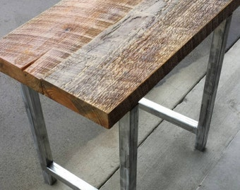 "27""x16""x26"" Industrial End Table/Side Table"