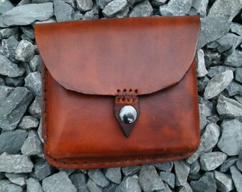 Handmade Leather Pouch Customizable