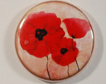 Decorative magnets/aimant COQUELICOT