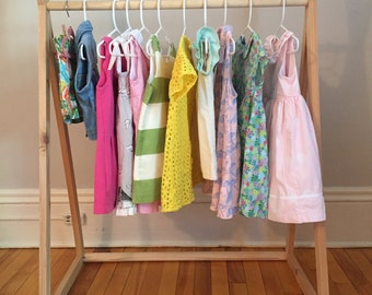 Wooden Clothing Rack - LOCAL PICKUP ONLY