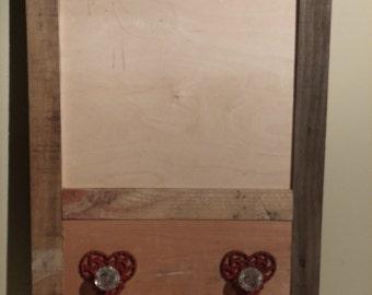 Chalk Board Key Holder