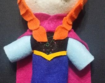 Frozen Felt Plush Doll - Ana