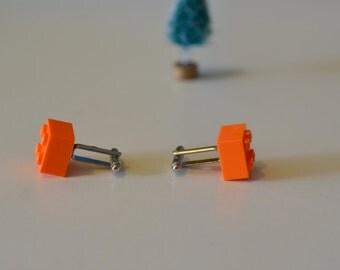LEGO Cufflinks - 2x2 Bricks - Handmade - Christmas Stocking Stuffer