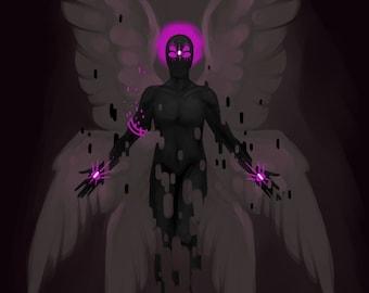The Dark Angel - 8.5 x 11 Fine Art Print