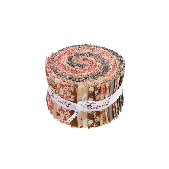 Rustic Blush fabric Design Roll - by Verna Mosquera for Free Spirit