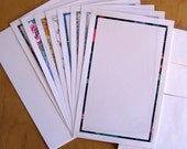 Recycled Paper Stationery Sampler Set of 8 | 100% Recycled Paper | Eco-Friendly Writing Paper | Printable | Made in USA