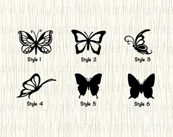 Butterfly Car Decal, Butterfly Decal, Monarch Butterfly, Swallowtail Decal, Painted Lady Decal, Queen Decal, Insect Car Decal, Insect Decal