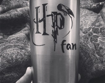 Harry Potter Fan Yeti or other cup decals - Decal only