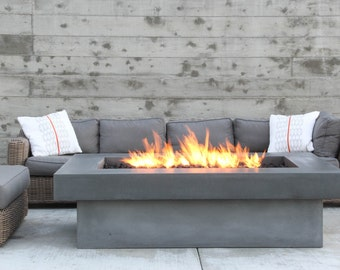 Olson Fire Table - Concrete Firepit